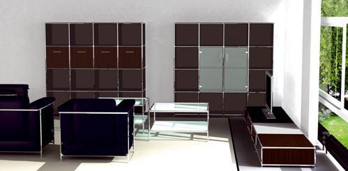 Steelnovel amenagement d 39 espace de travail - Mobilier de bureau design haut de gamme ...